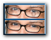 Anti-Reflective lenses are not ordinary anti-glare lenses designed to reduce glare and fatigue. Built into the lens is a TD2 ultimate scratch guard which makes the lens durable.
